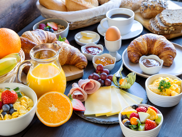 Continental Breakfast On Offer Every Day